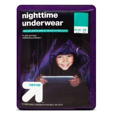 Best pull up for older bedwetters -Target Up & Up Nighttime Underwear